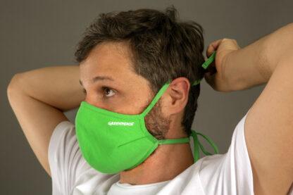 mascherina verde