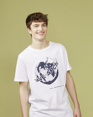 t-shirt save the arctic greenpeace