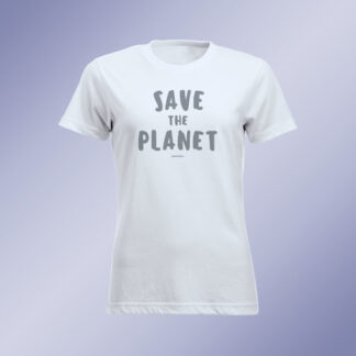 "T-shirt donna ""Save The Planet"""